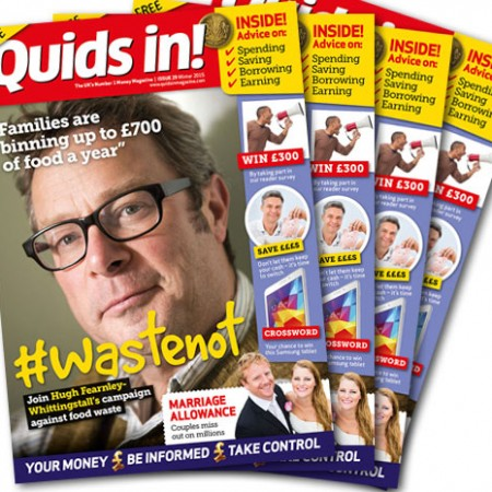 Quids in! 29 covers