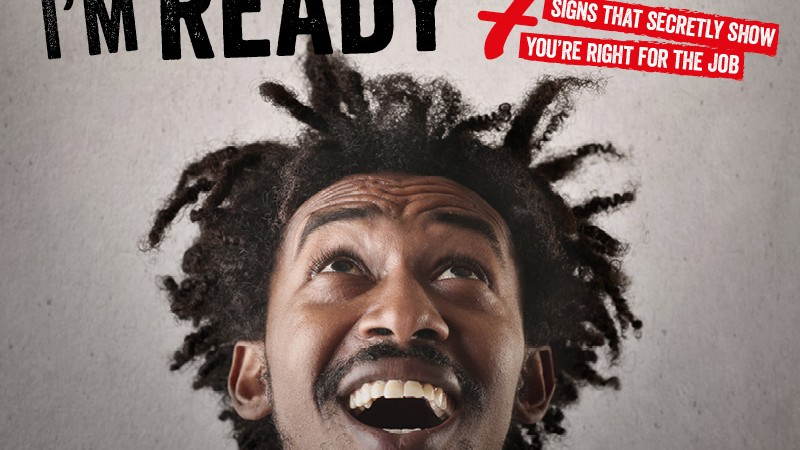 I'm Ready banner ad