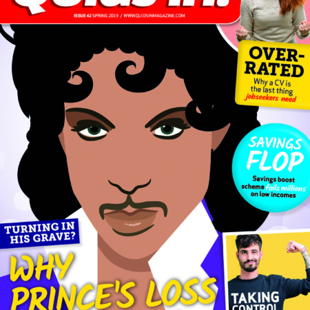 Quids in! magazine issue 42 cover