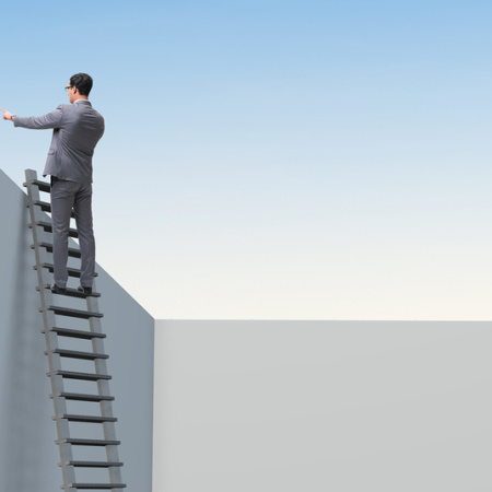 Climbing the work ladder ahead of the crowd